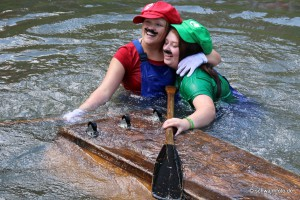 Brühtrogrennen in Zella – Riesenspektakel in der Schwalm